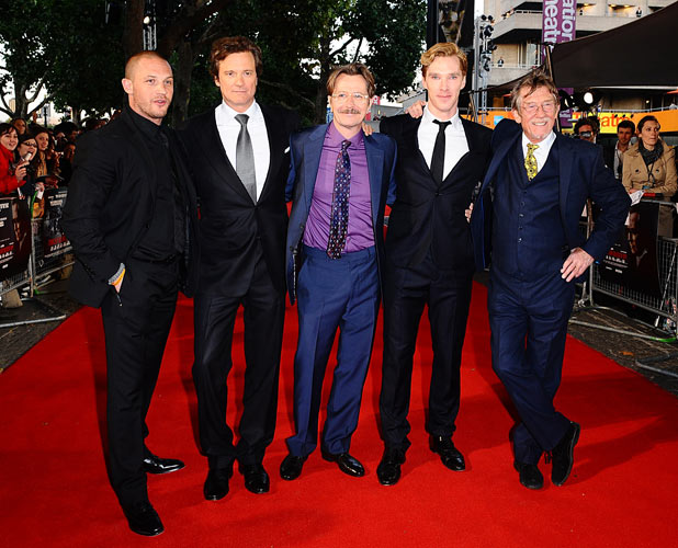 Tinker Tailor Solider Spy - UK premiere