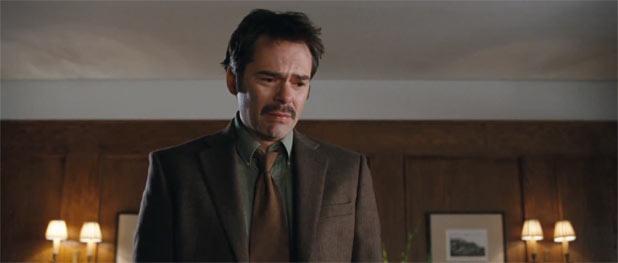 Charlie in tears