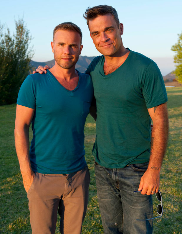 X-Factor: The Judges' houses: Gary Barlow and Robbie Williams