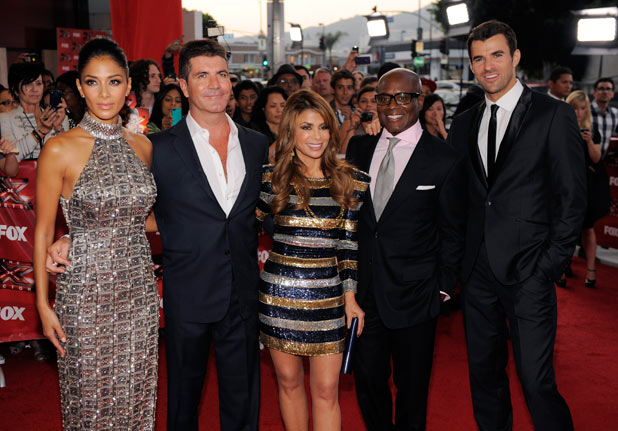 The X Factor USA premiere screening