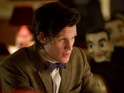 Take a look at Matt Smith and guest David Walliams in the next episode of Doctor Who.