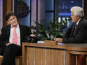 Charlie Sheen discusses his eventful year and future plans with Jay Leno.