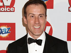 Anton Du Beke arriving for the 2011 TV Choice Awards