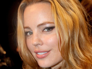 Melissa George at the Tommy Hilfiger show for NY Fashion Week