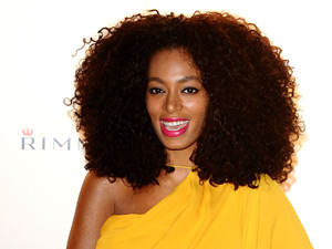 Solange at the Rimmel London party