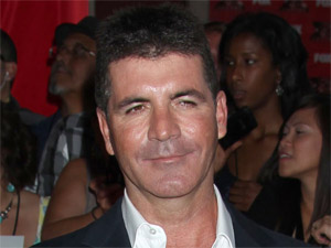 Simon Cowell makes an appearance at the premiere of the US &#39;X-Factor&#39; in Los Angeles, California