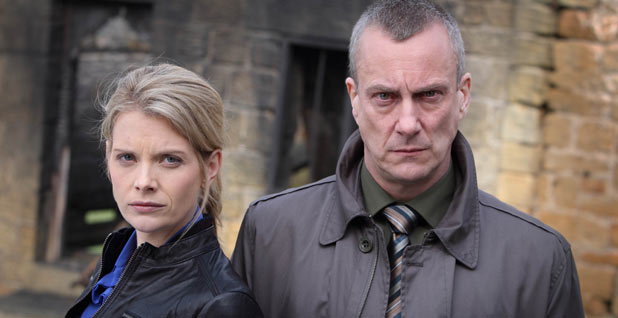 Andrea Lowe and Stephen Tompkinson in 'DCI Banks'