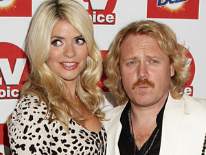 Keith Lemon and Holly Willoughby at the TV Choice awards