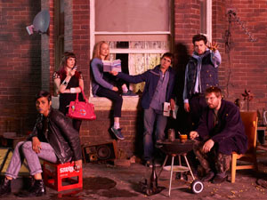 The cast of 'Fresh Meat'