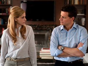 Sarah Michelle Geller as Siobhan Martin/Bridget Kelly and Ioan Gruffudd as Andrew Martin on Ringer