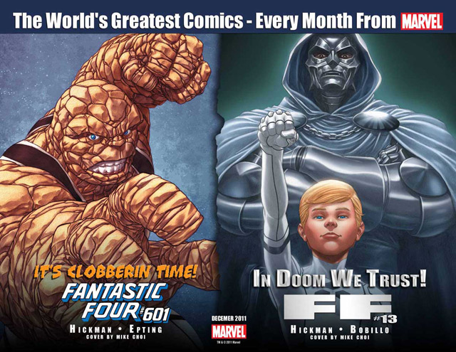 Fantastic Four and FF teaser
