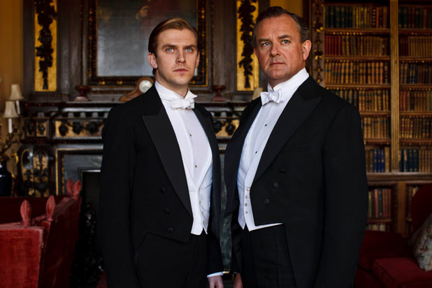 Matthew and the Earl of Grantham