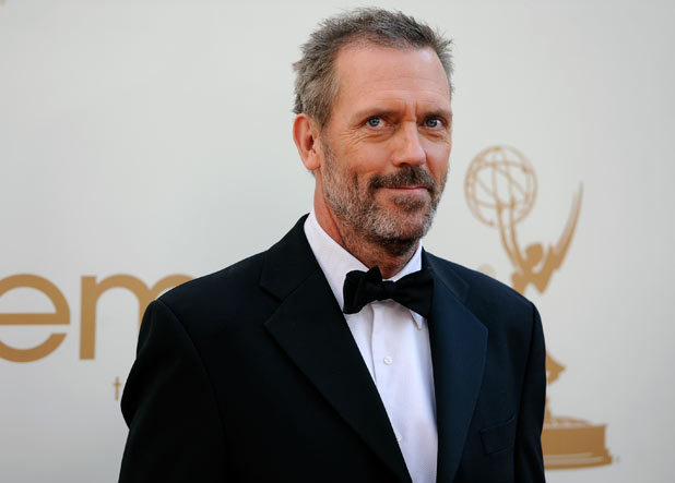 Hugh Laurie on the red carpet at the 63rd Primetime Emmy Awards