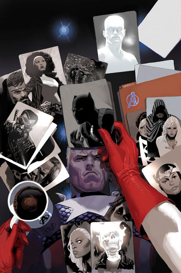 Avengers 18 cover (Daniel Acuna)