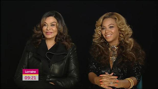 Beyonce on ITV's 'Lorraine'