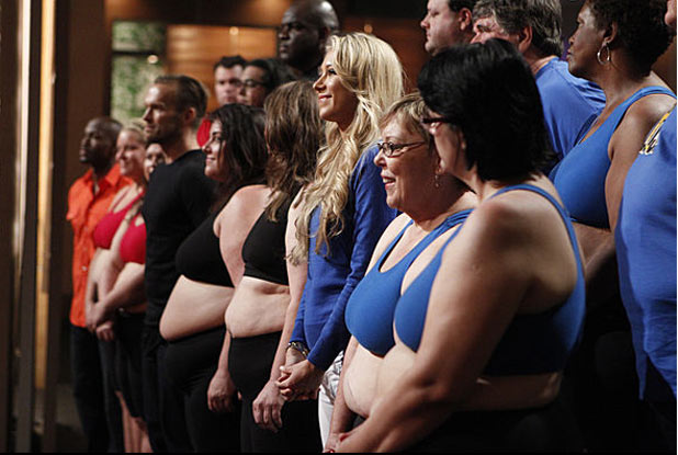 The Biggest Loser USA S12E01: The first weigh-in 