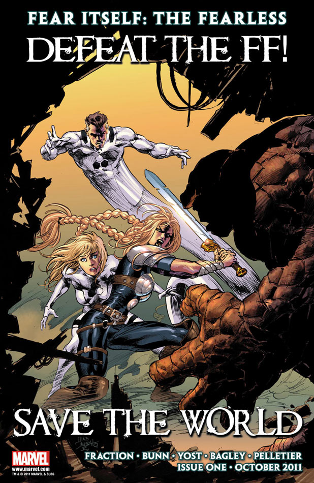 Fear Itself: Valkyrie battles Future Foundation