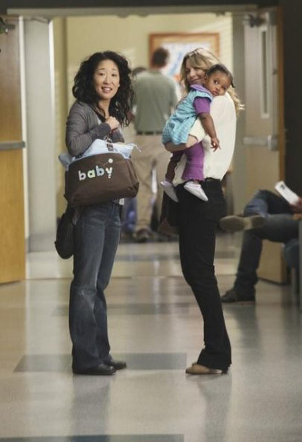 Cristina and Meredith