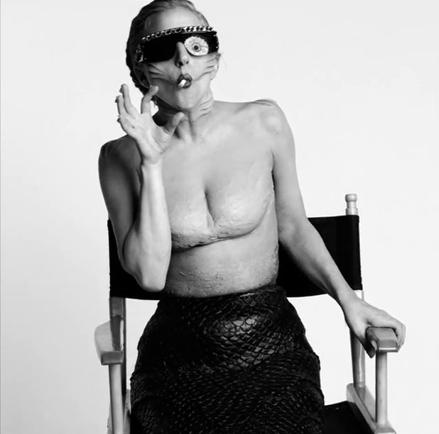 Lady Gaga video still