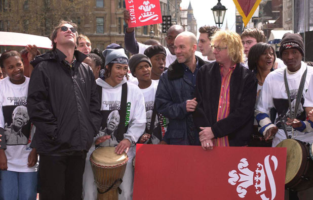 REM alongside Beverley Knight