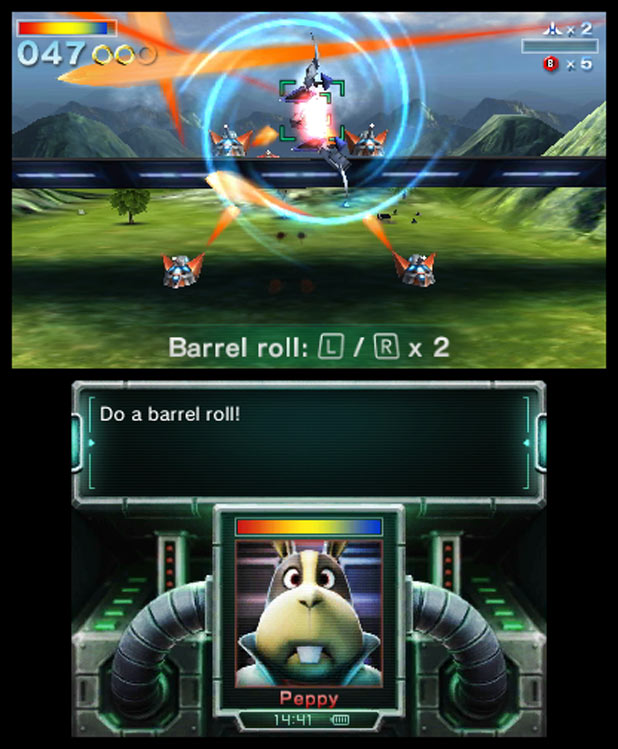 Do a barrel roll!