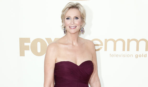 Jane Lynch on the red carpet at the 63rd Primetime Emmy Awards