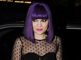 Jessie J arrives for the Giles Deacon party as part of London Fashion Week