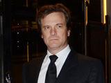 Colin Firth leaves 45 Park Lane, London.