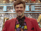 Matthew Kelly on the set of Stars In Their Eyes in 1993