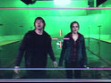 Watch Harry Potter's Rupert Grint and Emma Watson film Ron and Hermoine's kiss.