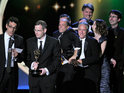 The Daily Show wins the Emmy for 'Outstanding Variety, Music or Comedy Series'.