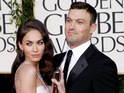 Actress becomes a mother for the first time with husband Brian Austin Green.