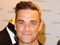 Pete Conway claims famous son Robbie Williams has been in hysterics.