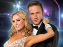 "Kym Johnson says David Arquette can be ""super critical"" of his own dancing."