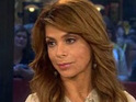 Paula Abdul thanks her fellow judges for their support on the Top 11 results show.
