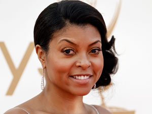 Taraji P. Henson on the red carpet at the 63rd Primetime Emmy Awards