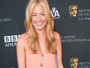 Cat Deeley clashes with her clothes