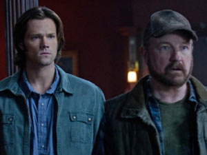Supernatural S07E01: Sam and Bobby