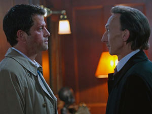 Supernatural S07E01: Castiel and Death