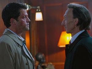 Supernatural S07E01: Castiel and Death