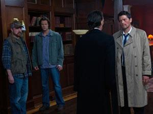 Supernatural S07E01: Bobby, Sam and Death