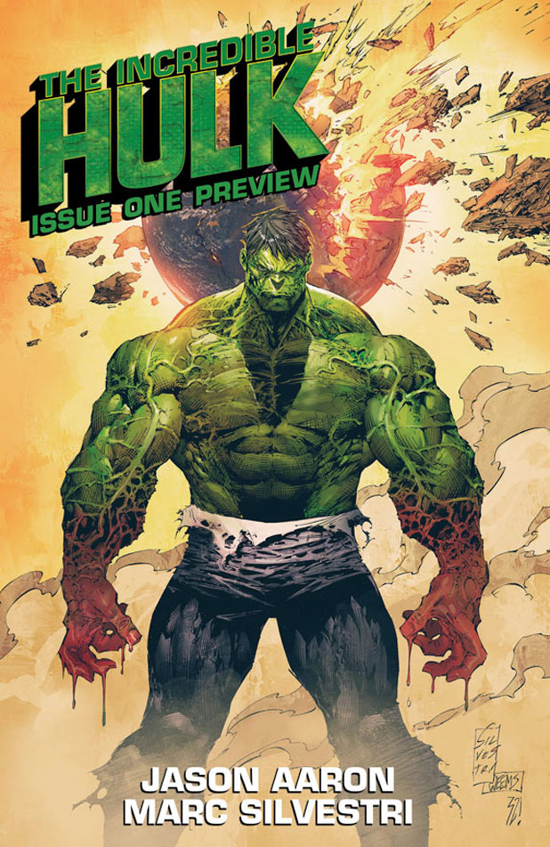 Incredible Hulk 1 Cover