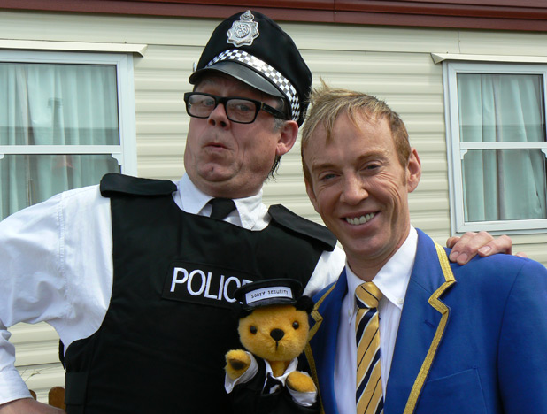 John Shuttleworth and Sooty