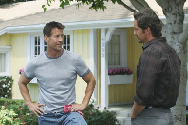 Mike Delfino and Ben Faulkner