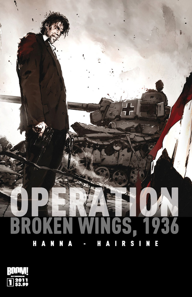 'Operation Broken Wings 1936' cover
