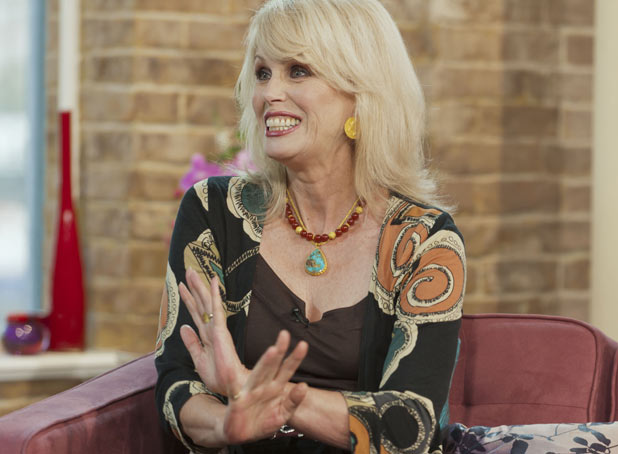 Joanna Lumley on 'This Morning'