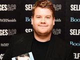 James Corden during a book signing for his autobiography at Selfridges, London