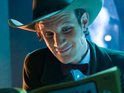 Steven Moffat admits that he enjoys resolving mysteries on Doctor Who.