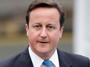 David Cameron - The British Prime Minister celebrates his 45th birthday on Sunday.  