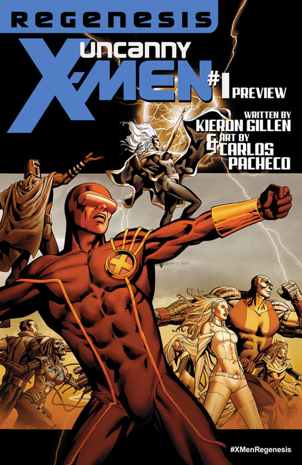 Uncanny X-Men Re-Launch Cover